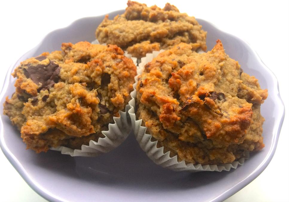 Bananen-chocolade muffins (voor je ontbijt!)