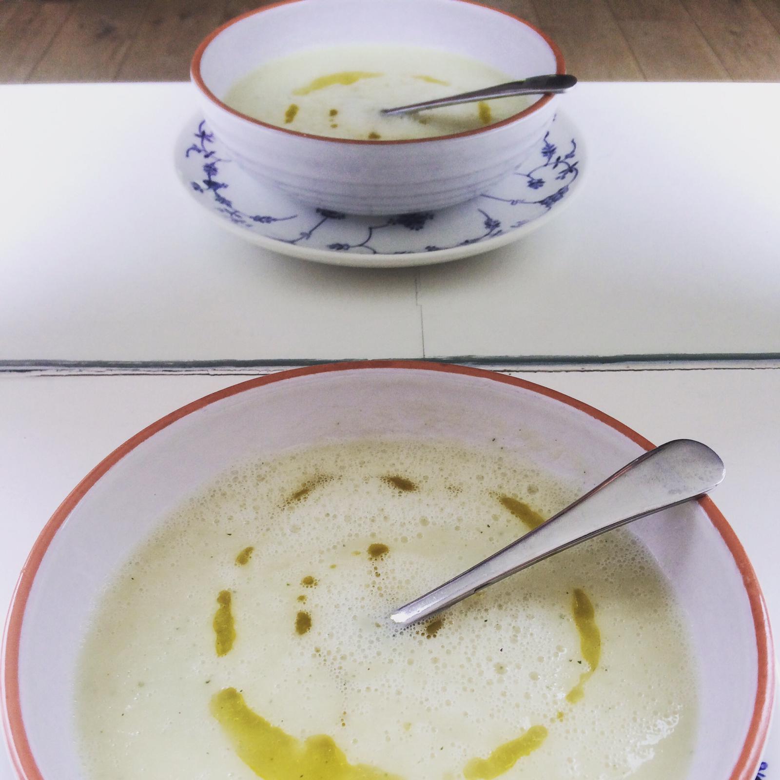Deniseboon.nl aspergesoep recept blog